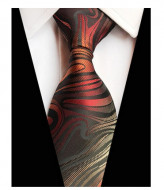 Model 23 - cravata matase naturala 100%, tesatura jaquard