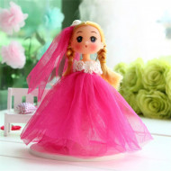Papusa, Printesa uimita, cu rochita frez