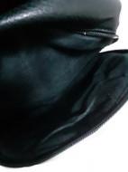 Rucsac dama Forever Young, negru, ornament tinte RC003
