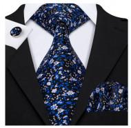 Set cravata + batista + butoni - matase 100% - model 133
