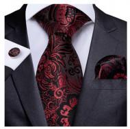 Set cravata + batista + butoni - matase 100% - model 143