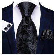 Set cravata + batista + butoni - matase 100% - model 153