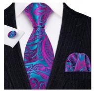 Set cravata + batista + butoni - matase 100% - model 168