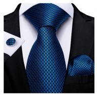 Set cravata + batista + butoni - matase 100% - model 177