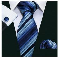 Set cravata + batista + butoni - matase 100% - model 186