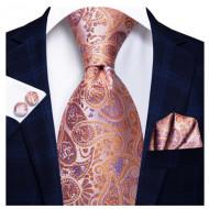 Set cravata + batista + butoni - matase 100% - model 195