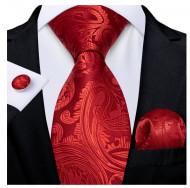 Set cravata + batista + butoni - matase 100% - model 212