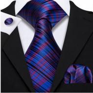 Set cravata + batista + butoni - matase naturala 100% - model 42