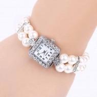 Ceas dama elegant White Pearls
