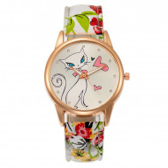 Ceas dama ieftin Fancy Kitty, model 1