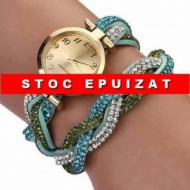 Fancy elegant watch - blue saphire
