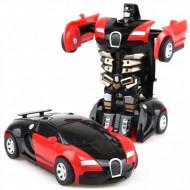 Jucarie ieftina interactiva tip Transformers, masina - robot