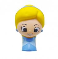 Jucarie Squishy, model fetita blonda, cocheta, multicolora