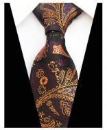 Model 38 - cravata matase naturala 100%, tesatura jaquard