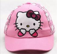 Sapca fetite cu model tip Hello Kitty