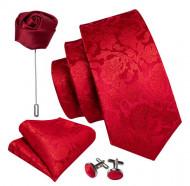 Set cravata + batista + butoni - matase 100% - model 169