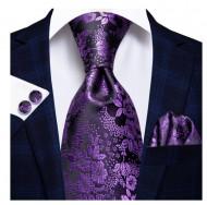 Set cravata + batista + butoni - matase 100% - model 196
