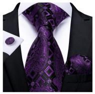 Set cravata + batista + butoni - matase 100% - model 213