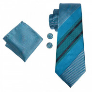 set cravata matase naturala