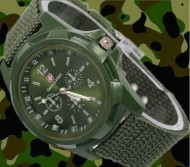 Ceas barbatesc Gemius Army, culoare kaki (verde militar)