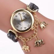 Ceas dama cu 3 elefantei