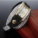 ceas dama ieftin cu cristale negru