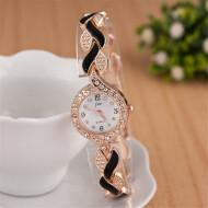 ceas ieftin de dama auriu cu negru