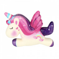 Jucarie Squishy unicorn parfumata cu revenire lenta - Model 1