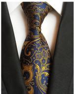 Model 32 - cravata matase naturala 100%, tesatura jaquard