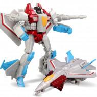 Robot transformer, avion de vanatoare, jucarie ieftina