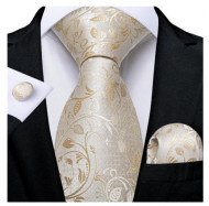 Set cravata + batista + butoni - matase 100% - model 135