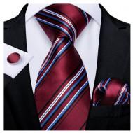 Set cravata + batista + butoni - matase 100% - model 145