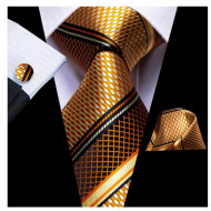 Set cravata + batista + butoni - matase 100% - model 160