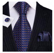 Set cravata + batista + butoni - matase 100% - model 170