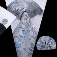 Set cravata + batista + butoni - matase 100% - model 197