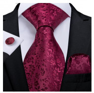 Set cravata + batista + butoni - matase 100% - model 204