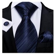 Set cravata + batista + butoni - matase naturala 100% - model 117