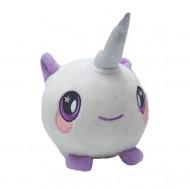 Squishy Jumbo, jucarie ieftina, model puisor unicorn, material textil