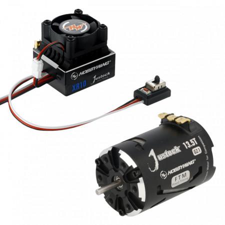 Set Motor 13,5 T cu Regulator HW Xerun Justock