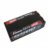 Gens ace 5500mAh 7.6V High Voltage120C 2S2P Racing Series Shorty Black HardCase Lipo65#