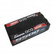 Gens ace 5500mAh 7.6V High Voltage120C 2S2P Racing Series Shorty Black HardCase Lipo65#