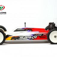 Automodel Buggy 4WD 1/10 Electric PR Racing SB401-R