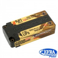 Acumulator SUNPADOW 6000 mAh-7.6V-100C/50C (HV) Lipo Battery(shorty pack)
