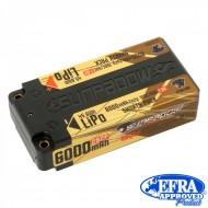 Acumulator SUNPADOW 6000 mAh-7.6V-100C/50C (HV) Lipo Battery(shorty pack)