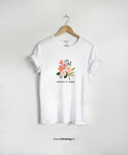 tricou x iubeste-ti viata