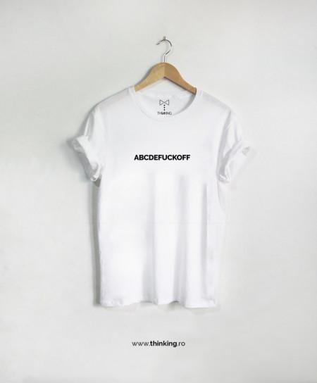 tricou x abcdefuckoff