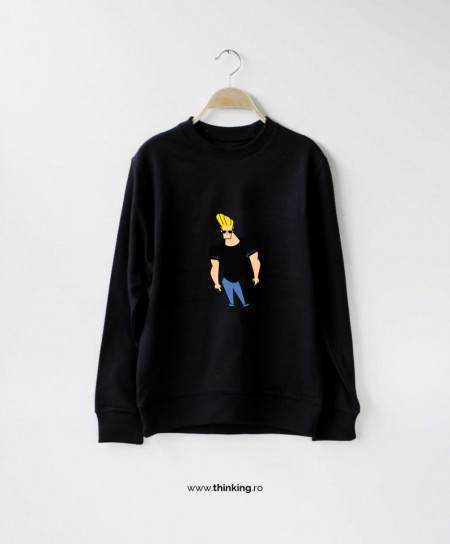 pulover x cartoons johnny bravo