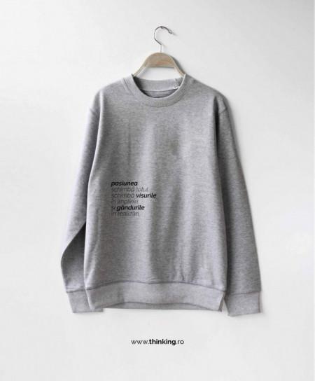 pulover x pasiunea