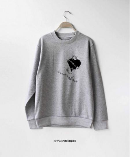 pulover x inima nebuna