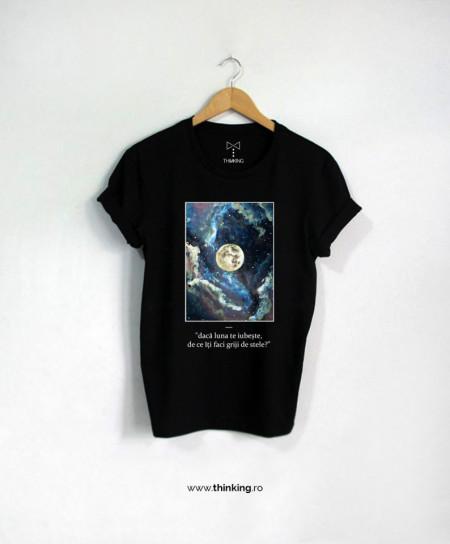 tricou x daca luna te iubeste